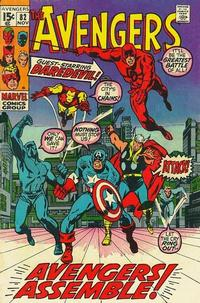 Cover Thumbnail for The Avengers (Marvel, 1963 series) #82 [Regular Edition]