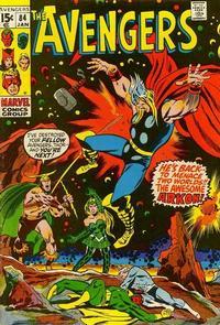 Cover Thumbnail for The Avengers (Marvel, 1963 series) #84 [Regular Edition]