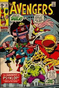 Cover Thumbnail for The Avengers (Marvel, 1963 series) #88 [Regular Edition]