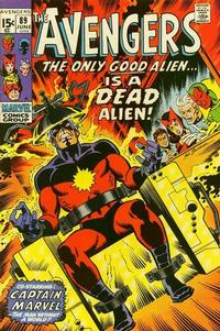 Cover for The Avengers (Marvel, 1963 series) #89 [Regular Edition]