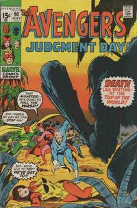 Cover Thumbnail for The Avengers (Marvel, 1963 series) #90 [Regular Edition]