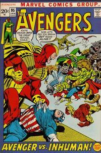Cover Thumbnail for The Avengers (Marvel, 1963 series) #95 [Regular Edition]