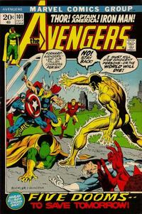 Cover Thumbnail for The Avengers (Marvel, 1963 series) #101 [Regular Edition]
