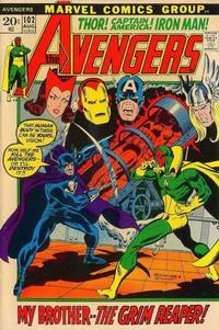 Cover Thumbnail for The Avengers (Marvel, 1963 series) #102 [Regular Edition]