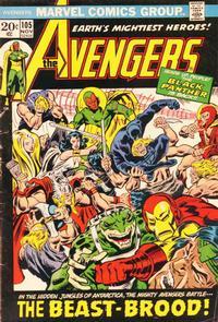 Cover Thumbnail for The Avengers (Marvel, 1963 series) #105 [Regular Edition]