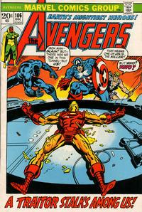 Cover Thumbnail for The Avengers (Marvel, 1963 series) #106 [Regular Edition]