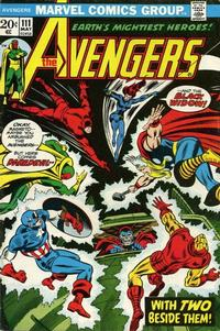 Cover Thumbnail for The Avengers (Marvel, 1963 series) #111 [Regular Edition]