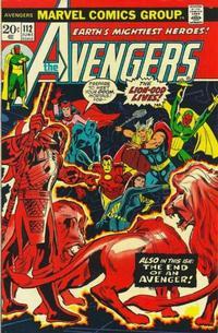 Cover Thumbnail for The Avengers (Marvel, 1963 series) #112 [Regular Edition]