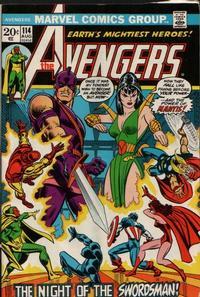 Cover Thumbnail for The Avengers (Marvel, 1963 series) #114 [Regular Edition]