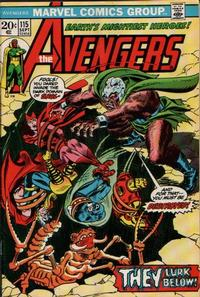 Cover Thumbnail for The Avengers (Marvel, 1963 series) #115 [Regular Edition]