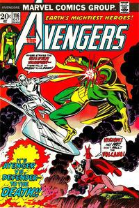 Cover Thumbnail for The Avengers (Marvel, 1963 series) #116 [Regular Edition]