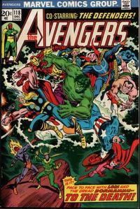 Cover Thumbnail for The Avengers (Marvel, 1963 series) #118 [Regular Edition]