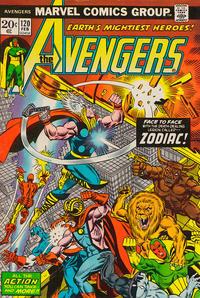 Cover Thumbnail for The Avengers (Marvel, 1963 series) #120 [Regular Edition]