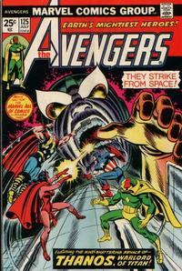 Cover Thumbnail for The Avengers (Marvel, 1963 series) #125