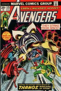 Cover Thumbnail for The Avengers (Marvel, 1963 series) #125