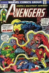 Cover Thumbnail for The Avengers (Marvel, 1963 series) #126