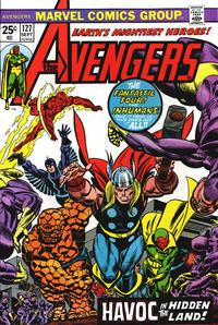 Cover Thumbnail for The Avengers (Marvel, 1963 series) #127