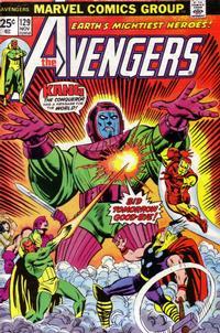 Cover Thumbnail for The Avengers (Marvel, 1963 series) #129