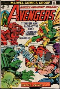Cover Thumbnail for The Avengers (Marvel, 1963 series) #130