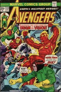 Cover Thumbnail for The Avengers (Marvel, 1963 series) #134