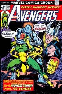 Cover Thumbnail for The Avengers (Marvel, 1963 series) #135