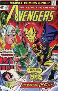 Cover Thumbnail for The Avengers (Marvel, 1963 series) #139