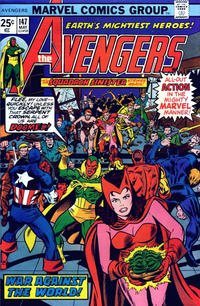 Cover Thumbnail for The Avengers (Marvel, 1963 series) #147 [25¢ Cover Price]