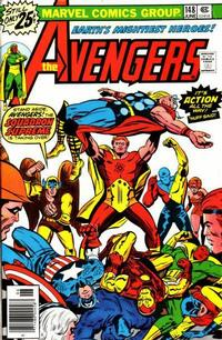 Cover Thumbnail for The Avengers (Marvel, 1963 series) #148 [25¢ Cover Price]