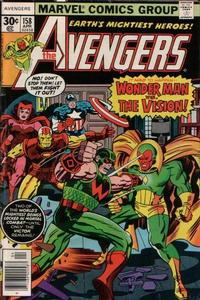 Cover Thumbnail for The Avengers (Marvel, 1963 series) #158 [Regular Edition]