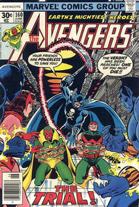 Cover Thumbnail for The Avengers (Marvel, 1963 series) #160 [30¢ Cover Price]