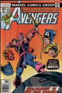 Cover Thumbnail for The Avengers (Marvel, 1963 series) #172 [Regular Edition]