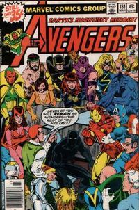 Cover Thumbnail for The Avengers (Marvel, 1963 series) #181 [Regular Edition]