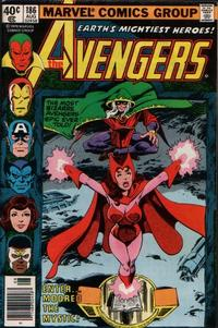 Cover Thumbnail for The Avengers (Marvel, 1963 series) #186 [Newsstand]