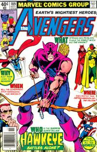 Cover for The Avengers (Marvel, 1963 series) #189 [Direct Edition]