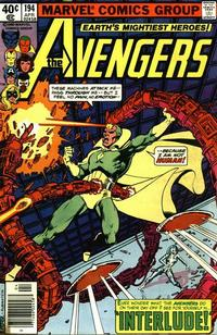 Cover Thumbnail for The Avengers (Marvel, 1963 series) #194 [Newsstand]