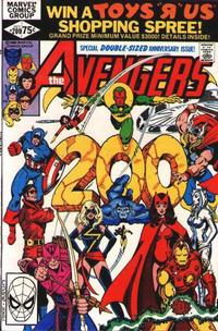 Cover Thumbnail for The Avengers (Marvel, 1963 series) #200 [Direct Edition]