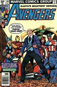 Cover Thumbnail for The Avengers (Marvel, 1963 series) #201 [Newsstand Edition]