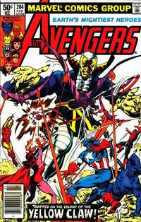 Cover Thumbnail for The Avengers (Marvel, 1963 series) #204 [Newsstand]
