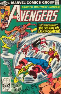 Cover Thumbnail for The Avengers (Marvel, 1963 series) #207 [Direct Edition]