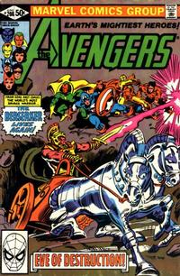 Cover Thumbnail for The Avengers (Marvel, 1963 series) #208 [Direct Edition]