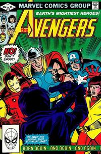 Cover Thumbnail for The Avengers (Marvel, 1963 series) #218 [Direct Edition]