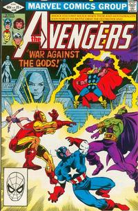 Cover Thumbnail for The Avengers (Marvel, 1963 series) #220 [Direct Edition]