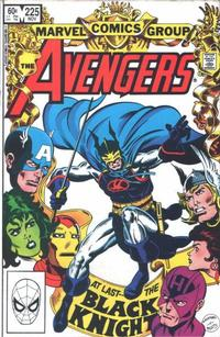 Cover Thumbnail for The Avengers (Marvel, 1963 series) #225 [Direct Edition]