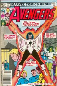 Cover Thumbnail for The Avengers (Marvel, 1963 series) #227 [Newsstand Edition]