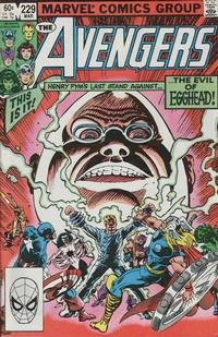Cover Thumbnail for The Avengers (Marvel, 1963 series) #229 [Direct Edition]