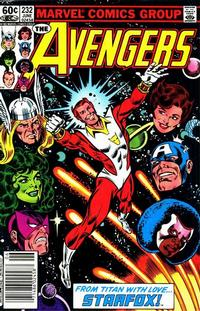 Cover Thumbnail for The Avengers (Marvel, 1963 series) #232 [Newsstand Edition]