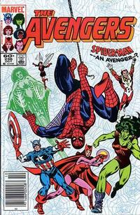 Cover Thumbnail for The Avengers (Marvel, 1963 series) #236 [Newsstand Edition]