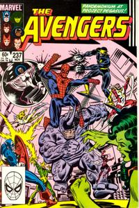Cover Thumbnail for The Avengers (Marvel, 1963 series) #237 [Direct]