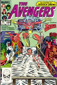 Cover Thumbnail for The Avengers (Marvel, 1963 series) #240 [Direct Edition]