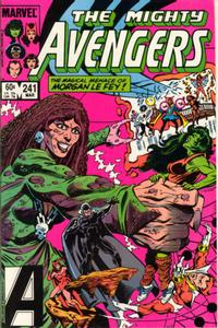 Cover for The Avengers (Marvel, 1963 series) #241 [Newsstand Edition]